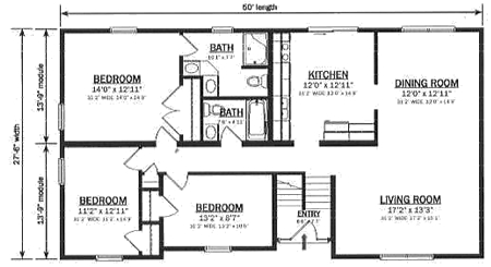 020m 0034 furthermore Info Ryt likewise Hallmark Modular Homes B162132 1 together with Tiny House Blueprints besides 1970s Tri Level Floor Plan. on split level floor plans