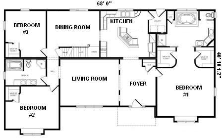 160 Eden together with Devine Homes Floor Plans additionally House Floor Plans 3 Bedroom 2 Bath likewise Titan Mobile Home Floor Plans moreover Bank Design Layout. on premier modular homes