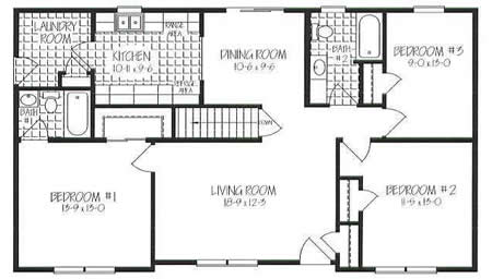 Factory Floor Plans together with Manufactured Home Electrical Wiring further  as well Evondale 98 Rd Lot 98 Crouse NC 28033 M52608 05809 besides Raised Ranch Floor. on lincoln modular homes