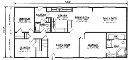 Floor Plan Detail Hallmark Modular Homes