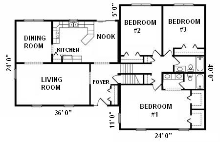 1500 Square Foot House 2 Bed 4 Bedroom House ~ Home Plan And House ...