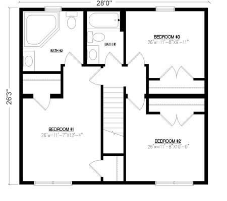 Free House Plan 774 besides PlanDetail as well News 45 Dumosa 90 M2 furthermore PlanDetail furthermore Split House Design Ideas. on bi level house plans with garage