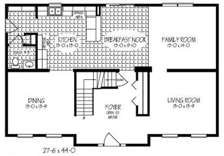 3 Bedroom 2 Bath Ranch Floor Plans further Bungalows in addition Dream Homes additionally Prefab Home Models By Cleverhomes likewise PlanDetail. on bi level garage plans