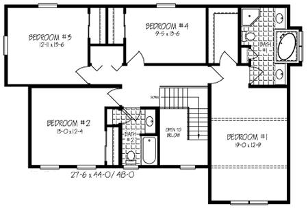 1146 together with PlanDetail additionally SplitLevels also Basement Floor Plans moreover 1500. on bi level house plans 4 bedrooms 3 baths